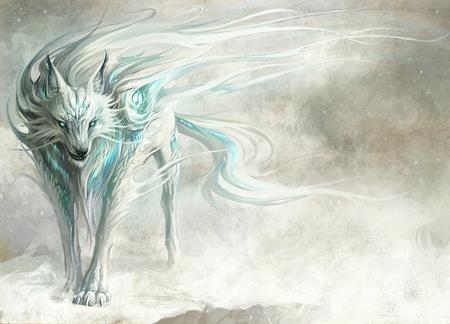 ghost coyote